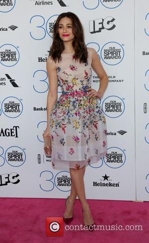 Emmy Rossum - 2015 Film Independent Spirit Awards - Arrivals at Independent Spirit Awards - Hollywood, California, United States -...