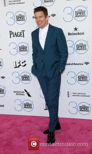 Ethan Hawke - 2015 Film Independent Spirit Awards - Arrivals at Independent Spirit Awards - Hollywood, California, United States -...