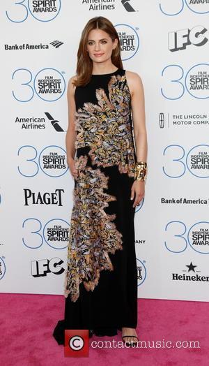 Stana Katic - 2015 Film Independent Spirit Awards - Arrivals at Independent Spirit Awards - Hollywood, California, United States -...