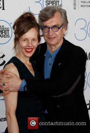 Wim Wenders and Wife Donata Wenders