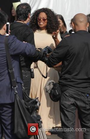 Oprah Winfrey - 2015 Film Independent Spirit Awards held at Santa Monica Beach - Outside Arrivals at Independent Spirit Awards...