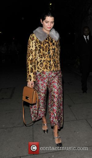 Pixie Geldof - LFW a/w 2015 - House of Holland - Arrivals - London, United Kingdom - Saturday 21st February...