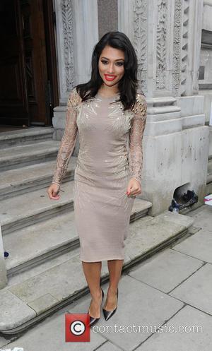 Vanessa White - LFW a/w 2015 - Julien Macdonald - Arrivals - London, United Kingdom - Saturday 21st February 2015