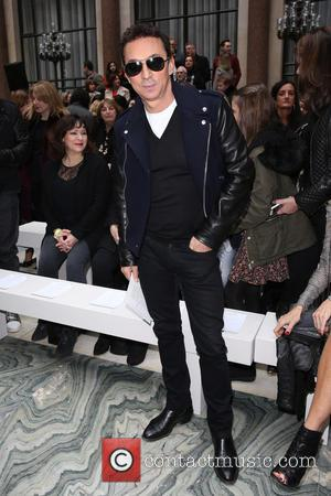 Bruno Tonioli - London Fashion Week Autumn/Winter 2015 - Julien Macdonald - Front Row at London Fashion Week - London,...