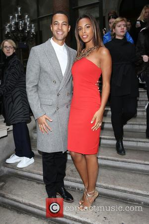 Marvin Humes, Rochelle Wiseman and Rochelle Humes