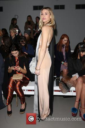 Whitney Port - London Fashion Week Autumn/Winter 2015 - Lucas Nascimento - Front Row at London Fashion Week - London,...