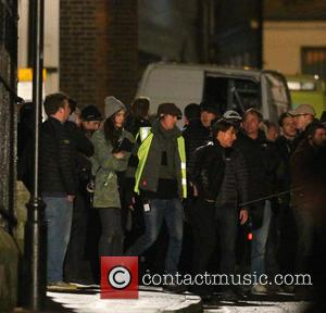 Tom Cruise - Tom Cruise films scenes for 'Mission: Impossible 5' in London - London, United Kingdom - Saturday 21st...