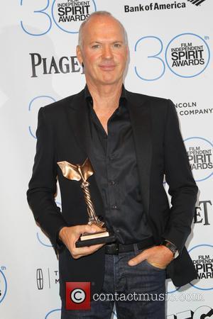 Michael Keaton - 2015 Film Independent Spirit Awards - Press Room at Santa Monica Beach, Independent Spirit Awards - Santa...