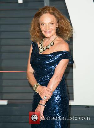 Diane von Furstenberg - A host of stars were photographed as they attended the Vanity Fair Oscar Party which was...