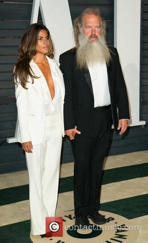 Mourielle Herrera and Rick Rubin