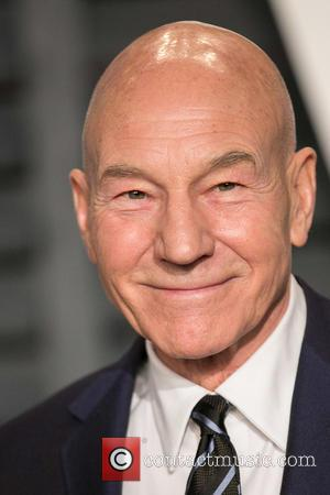 Patrick Stewart - A host of stars were photographed as they attended the Vanity Fair Oscar Party which was held...