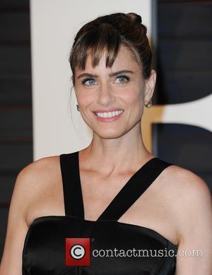 Amanda Peet - The 87th Annual Oscars - Vanity Fair Oscar Party at Wallis Annenberg Center for the Performing Arts...