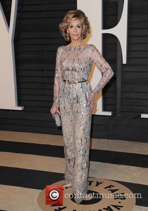Jane Fonda - The 87th Annual Oscars - Vanity Fair Oscar Party at Wallis Annenberg Center for the Performing Arts...