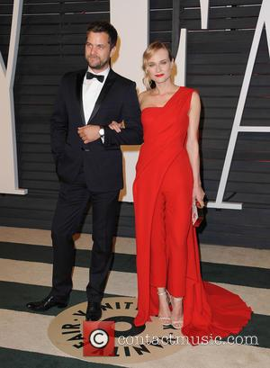 Joshua Jackson and Diane Kruger - The 87th Annual Oscars - Vanity Fair Oscar Party at Wallis Annenberg Center for...