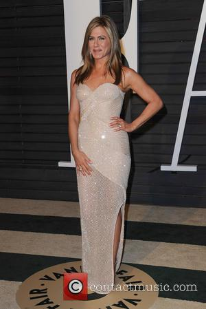Jennifer Aniston - The 87th Annual Oscars - Vanity Fair Oscar Party at Wallis Annenberg Center for the Performing Arts...