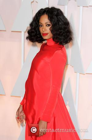 Solange Knowles - Hollywood's biggest stars were snapped on the red carpet as they arrived for the 87th Annual Oscars...