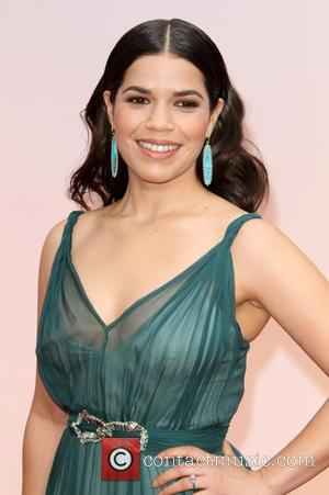 America Ferrera - Hollywood's biggest stars were snapped on the red carpet as they arrived for the 87th Annual Oscars...