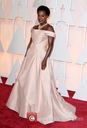 Viola Davis - Hollywood's biggest stars were snapped on the red carpet as they arrived for the 87th Annual Oscars...
