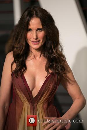 Andie MacDowell - Celebrities attend 2015 Vanity Fair Oscar Party at Wallis Annenberg Center for the Performing Arts with City...