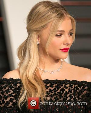 Chloe Grace Moretz - Celebrities attend 2015 Vanity Fair Oscar Party at Wallis Annenberg Center for the Performing Arts with...