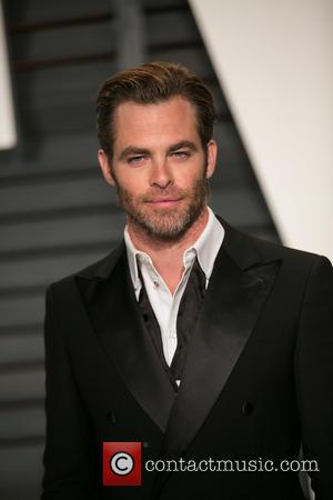Chris Pine - Celebrities attend 2015 Vanity Fair Oscar Party at Wallis Annenberg Center for the Performing Arts with City...