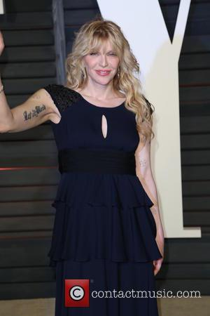 Courtney Love - Celebrities attend 2015 Vanity Fair Oscar Party at Wallis Annenberg Center for the Performing Arts with City...