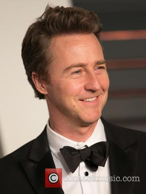 Edward Norton - Celebrities attend 2015 Vanity Fair Oscar Party at Wallis Annenberg Center for the Performing Arts with City...