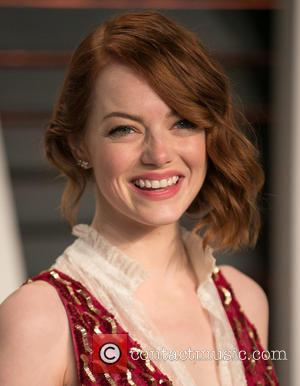 Emma Stone - Celebrities attend 2015 Vanity Fair Oscar Party at Wallis Annenberg Center for the Performing Arts with City...