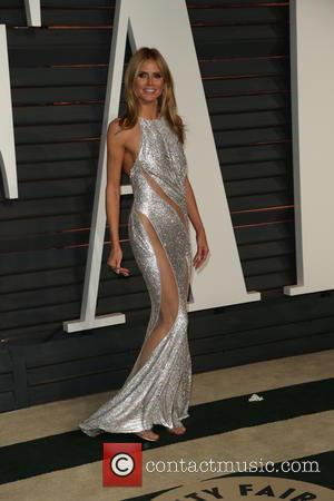 Heidi Klum - Celebrities attend 2015 Vanity Fair Oscar Party at Wallis Annenberg Center for the Performing Arts with City...