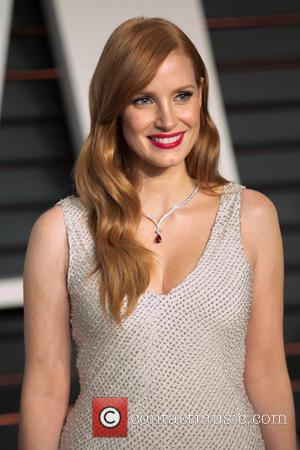 Jessica Chastain - Celebrities attend 2015 Vanity Fair Oscar Party at Wallis Annenberg Center for the Performing Arts with City...