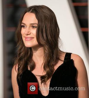 Keira Knightley - Celebrities attend 2015 Vanity Fair Oscar Party at Wallis Annenberg Center for the Performing Arts with City...