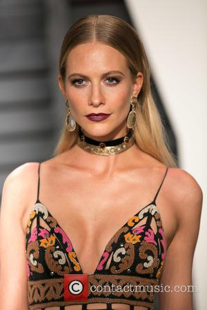Poppy Delevingne - Celebrities attend 2015 Vanity Fair Oscar Party at Wallis Annenberg Center for the Performing Arts with City...
