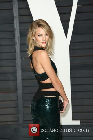 Rosie Huntington-Whiteley - Celebrities attend 2015 Vanity Fair Oscar Party at Wallis Annenberg Center for the Performing Arts with City...