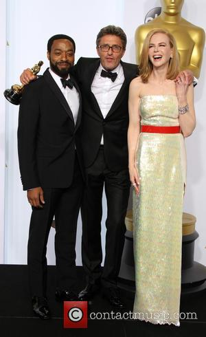 Chiwetel Ejiofor, director Pawel Pawlikowski and Nicole Kidman - The 87th Annual Oscars held at Dolby Theatre - Press Room...