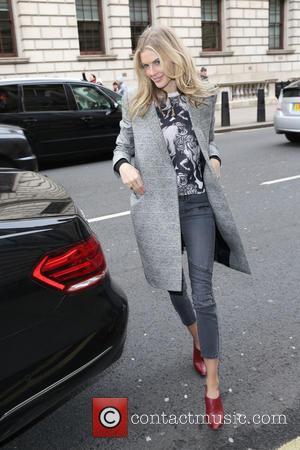 Donna Air - London Fashion Week Autumn/Winter 2015 Issa - Outside Arrivals at London Fashion Week - London, United Kingdom...