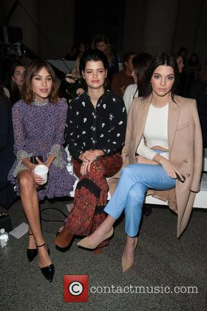 Alexa Chung, Pixie Geldof and Kendall Jenner