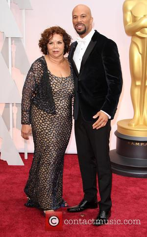 Common and Dr. Mahalia Ann Hines - Hollywood's biggest stars were snapped on the red carpet as they arrived for...