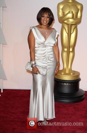 Gayle King - Hollywood's biggest stars were snapped on the red carpet as they arrived for the 87th Annual Oscars...