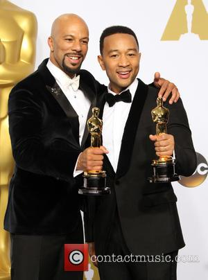 Common and John Legend - 87th Annual Academy Awards held at The Dolby Theatre - Press Room at Dolby Theatre,...