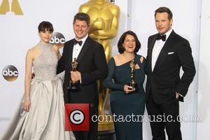 Felicity Jones, Adam Stockhausen, Anna Pinnock and Chris Pratt