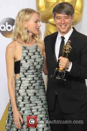 Naomi Watts and Tom Cross - 87th Annual Academy Awards - Press Room at The Dolby Theatre at Dolby Theatre,...