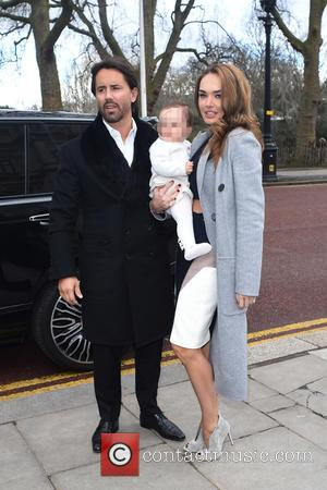 Tamara Ecclestone, Jay Rutland and Sofia - London Fashion Week Autumn/Winter 2015 - Julien Macdonald - Outside Arrivals at London...