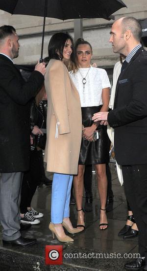 Kendal Jenner and Cara Delevingne