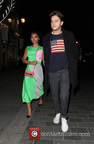 Vanessa White and Gary Salter - London Fashion Week Autumn/Winter 2015 - Browns Focus x Ashley Williams x Coca-Cola Party...