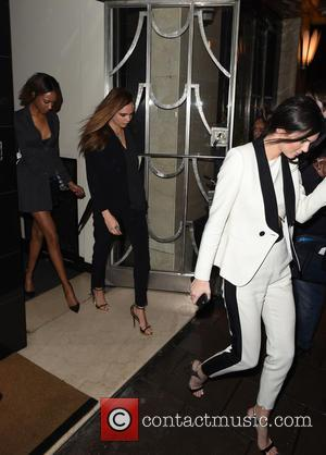 Cara Delevingne, Kendall Jenner and Jordan Dunn