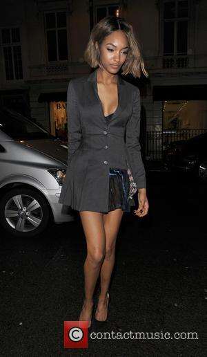 Jourdan Dunn - Supermodels young and old gathered at Mr Chow restaurant for a late night meal and party! Cara...