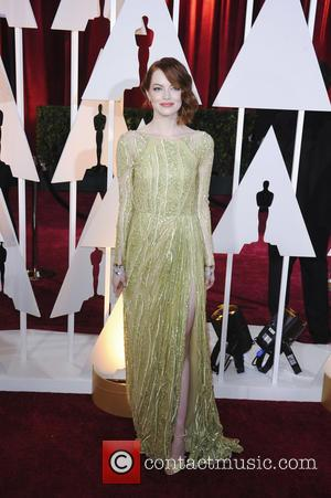 Emma Stone - The 87th Annual Oscars held at Dolby Theatre - Red Carpet Arrivals at Oscars, Dolby Theatre -...