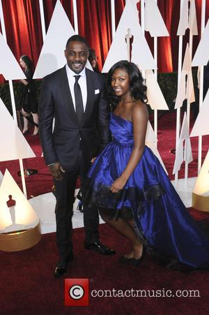 Idris Elba and Isan Elba - The 87th Annual Oscars held at Dolby Theatre - Red Carpet Arrivals at Oscars,...