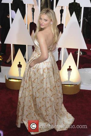 Chloe Grace Moretz - Hollywood's biggest stars were snapped on the red carpet as they arrived for the 87th Annual...