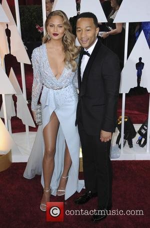 Chrissy Teigen and John Legend - Hollywood's biggest stars were snapped on the red carpet as they arrived for the...